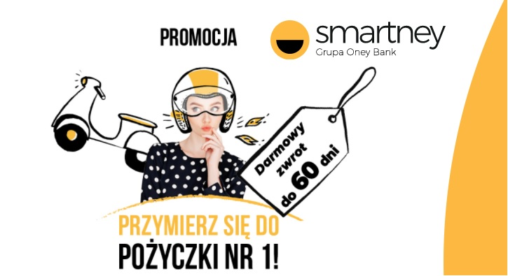 Promocja Smartney TEST 60 dni bez opłat