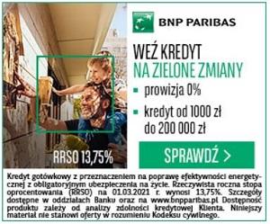 BNP Paribas Na zielone zmiany