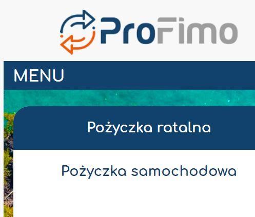 Wniosek Profimo
