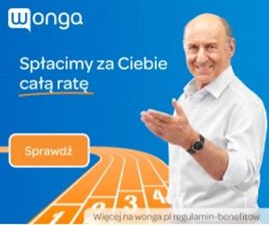 Wonga 1000 zł / 30 dni za 0 zł